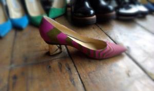 pink & gold N Kirkwood shoe