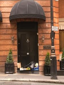 posh doorway