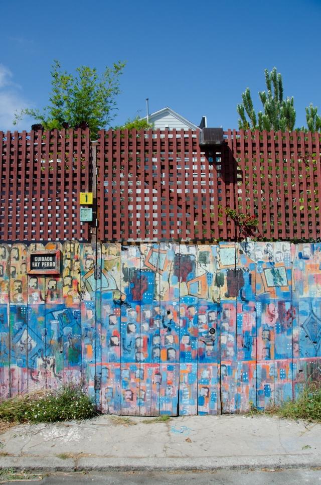 Back gate graffitti