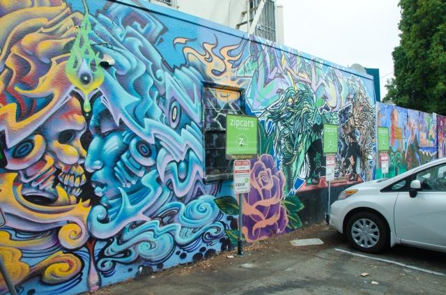 carpark graffitti