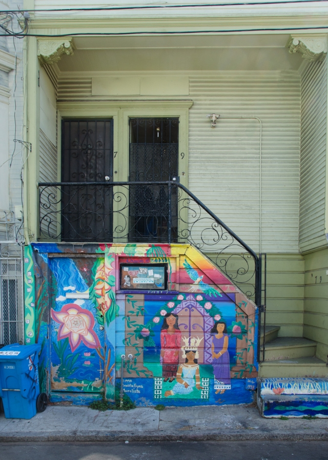 entrance graffitti